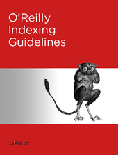 O'Reilly Indexing Guidelines